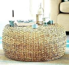 round wicker table rattan coffee tables appealing round wicker coffee table large round wicker coffee table