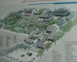 layout designs chinese classical gardens