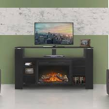electric fireplace contemporary closed hearth free standing nefp27 1015b