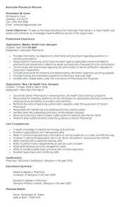 Pharmacist Resume Sample Interesting Pharmacist Resume Template Pharmacy Technician Resume Sample New