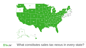 What Creates Sales Tax Nexus In Every State