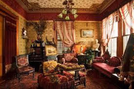 Victorian Decor Colors Glasses Interiors