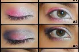 apply eye makeup step step