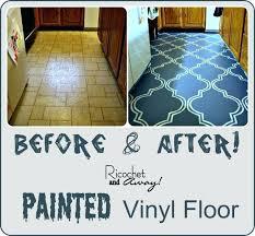 kitchen floor paint painting vinyl floors ricochet and away i painted my vinyl floor commercial kitchen