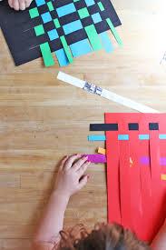 Art For Kids Art For Kidspaper Weaving Babble Dabble Do