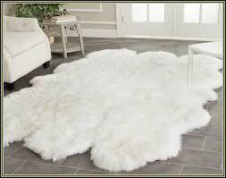 interior ikea sheepskin rug large designs