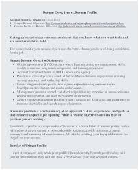 Personal Objectives Examples For Resumes Personal Statement For Resume Sample Popular Resume Objective