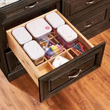 Design Ideas Squish Drawer Stores Deep Drawer Organizer Without Canisters In 2019 Kitchen