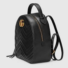 gucci bags backpack. gucci gg marmont quilted leather backpack detail 2 bags