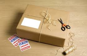 sending gifts whilst traveling abroad