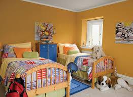 Kids Bedroom Color Schemes Orange Kids Rooms Ideas Citrusy Sweet Kids Bedroom Paint