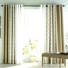 glass door curtain ideas sliding covering best patio curtains on slider front window treatments