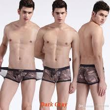 Gay men's sheer underwear