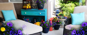 Delighful Garden Furniture Paint Ideas Outdoor Bright Inspiration