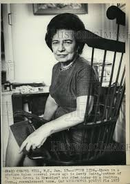 """1972 Press Photo Betty Smith, Author of """"A Tree Grows in Brooklyn"""" - R 
