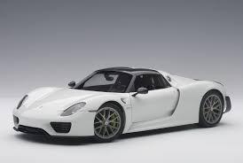 918 spyder white. white porsche 918 spyder weissach package autoart 77926 scale 118 i