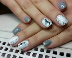 25+ Gray Nail Art Designs, Ideas | Design Trends - Premium PSD ...