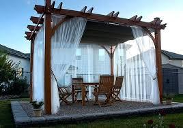 retractable pergola canopy. Pergola Retractable Canopy X Home Depot