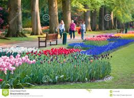 Small Picture Beautiful Garden Of Colorful Flowers In Spring Royalty Free Stock