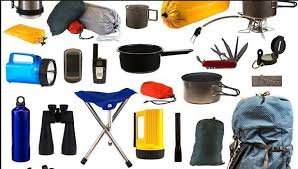 camping supplies list for camper