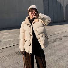 Cotton jacket women's winter <b>2018 new</b> Korean version of Baitao ...