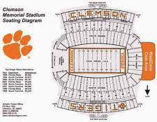 Clemson Clemson Memorial Stadium Football Tickets For Sale