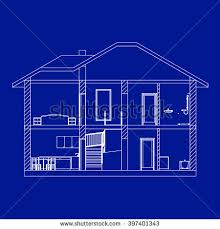 Small Picture House Blueprint Stock Images Royalty Free Images Vectors