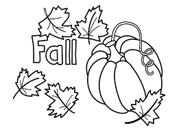 Small Picture Fall Coloring Pages Printable FunyColoring