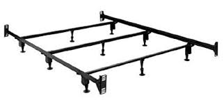 Sturdy Metal Bed Frame with Headboard and Footboard Brackets (King)