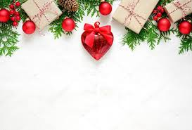 Blank Christmas Background Christmas Background With Blank Space Stock Photo Fortyforks