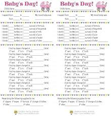 Infant Daily Log Nanny Template Pocketapps