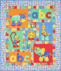 Alphabet Jungle - by Kids Quilts - Quilt PatternSECONDARY_SECTION ... & Completed size: 112cm x 132cm (44