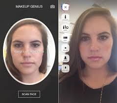 makeup genius app loreal