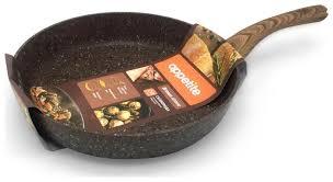 <b>Сковорода Appetite</b> Brown <b>Stone</b> BR2261 26 см — купить по ...