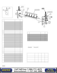 Goodyear Belt Tension Chart Flexco Belt Cleaners Handbook Goodyearbelting Com 866 711 4673