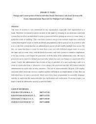 Project Report Writing Template Format Ppt Sample Abstract – Rigaud