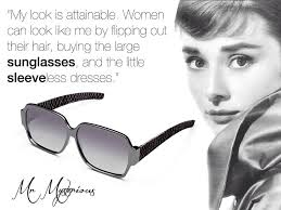 Sunglasses Quotes Adorable Audrey Hepburn Sunglasses Quote Masquerade From Mr Mysterious