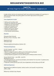 Nurse Agency Invoice Template Practical Sample Resume Experienced