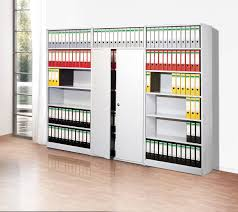 office racking system. Progress 500, An Extremely Stable Metal Office Shelving System Made Of High Quality Powder Coated Steel. Easy To Assemble Slot-in System. Racking F