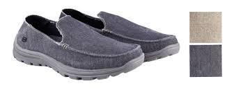 skechers relaxed fit memory foam mens. skechers men\u0027s canvas, slip on, memory foam, relaxed fit shoes foam mens a