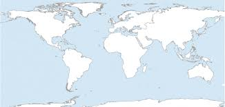 7 Printable Blank Maps For Coloring Activities In Your Geography