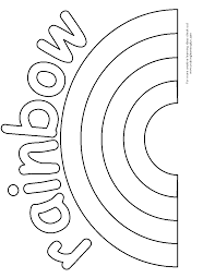 Small Picture rainbow coloring pages free printable Archives Best Coloring Page