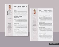 Professional Resume Examples 2020 Modern Cv Template For Ms Word 2019 2020 Simple Basic Resume Template 1 3 Page Creative Resume Professional Resume Job Resume Editable Resume