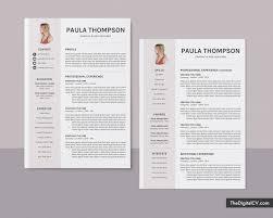 Modern 2020 Resume Modern Cv Template For Ms Word 2019 2020 Simple Basic Resume Template 1 3 Page Creative Resume Professional Resume Job Resume Editable Resume