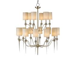 contemporary silver leaf finish chandelier