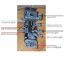 early gm headlight switch help hot rod forum hotrodders click image for larger version early gm light sw jpg views 4506