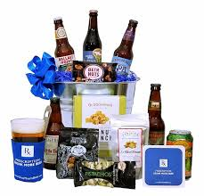 Get Well Wishes Beer Basket