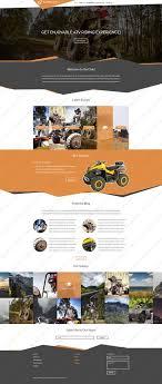 Rally Templates Website Templates Sport Rally Custom Website Template Sport Rally