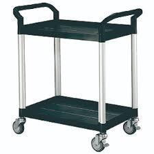 office trolley cart. Double Deck Service Cart Trolley - HS808E Office Trolley Cart C