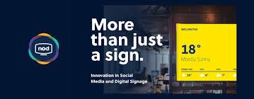 Innovation In Social Media And Digital Signage Social Media Nz